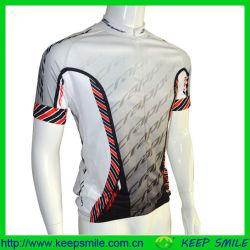 Sublimación personalizado el ciclismo se desgastan con el tejido funcional