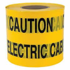 De hete Verkoop past Afgedrukt PE Signaal aan Geen Band van de Waarschuwing van de Barrière van de Veiligheid van de Adhesie Markerende