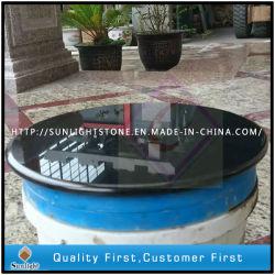 Shanxi Comptoir de cuisine en granit noir, plan de travail, dessus de table
