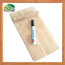Placa Memo de bambu e seque a placa de apagamento