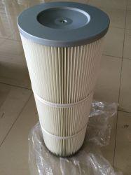 عناصر فلتر الغبار الصناعي مطوي للأسطوانة/فلتر مجمع الغبار
