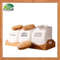 Le thé de café de sucre Canister Set Jar de stockage