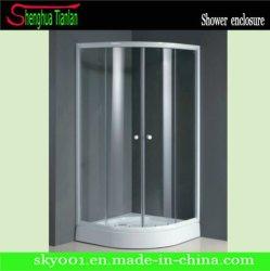 حجرة دش زجاجية منزلقة لحمام LES مسبق الصنع (TL-518)