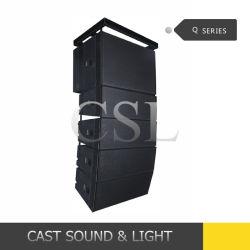 Q1+Q2 verdoppeln PROaudiozeile Reihe DJ-Gerät des lautsprecher-10inch