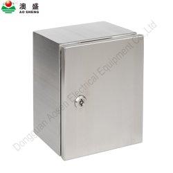La preuve de l'eau IP66 personnalisé à l'intérieur du boîtier de montage mural boîtier en acier inoxydable boîtier électrique