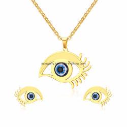 2019 Produtos de tendências best selling Eye jóias definir as mulheres com corrente