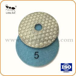 قرص التجليخ من أدوات التجليخ باستخدام لوحة التنظيف الجاف الماسية من الخرسانة الرخامية الجرانيت 4 بوصات/100 مم
