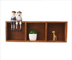 Mobiliário de decoração em madeira MDF Prateleira de parede Flutuante