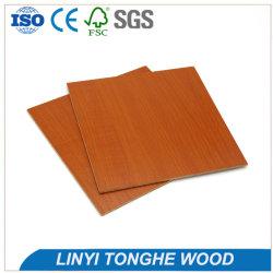 Fábrica china Venta caliente laminado de 16mm MDF melamina madera veteada de precios de las placas de alto brillo