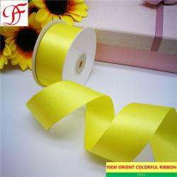 衣服のための3mm~100mmポリエステル単一か両面のサテンのリボンかウェビングまたはレースまたはテープか装飾またはパッケージ