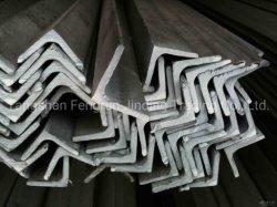 Negro y el ángulo de acero galvanizado, de la barra de metal Ms igual /desiguales con alta calidad buen precio.