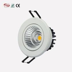 10W Ce RoHS SAA сертифицированных светодиодные потолочные светильники теплый белый свет 75мм вырежьте Downlights для дома