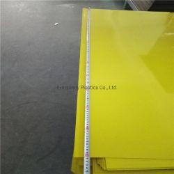 Gold silver brosse hot stamping fleuret pour ABS double feuille de plastique de couleur