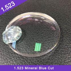 Buen precio al por mayor 1.523 Acabado Blanco Mineral sola Vison Hmc Óptica