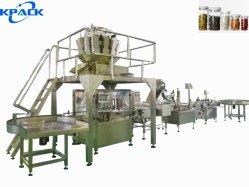 La mise en conserve entièrement automatique de gros fruits confits de remplissage et de la production de plafonnement de la ligne de conditionnement
