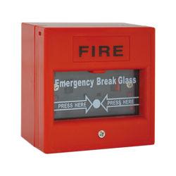 Segnalatore d'incendio di incendio di vetro del punto di chiamata della rottura Emergency
