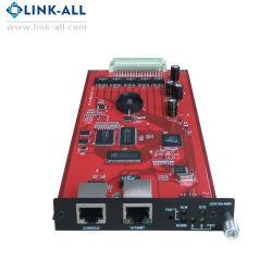 Консольный порт / 10/100bt RJ45 Nmc сетевой платы преобразователя данных карты памяти