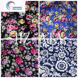 Cotone 100% del popeline della tessile stampato tessuto floreale