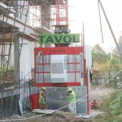 Transporte a Construção da Plataforma de Elevação do Elevador Industrial