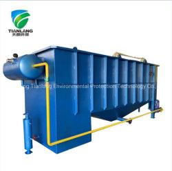 Sistema de flotación por aire disuelto de tratamiento de aguas servidas industriales / Restaurante