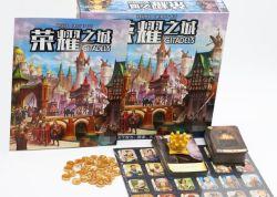 Produção personalizada de Conjuntos de jogos de tabuleiro - incluindo cartões, as peças de xadrez, pérolas e outros acessórios