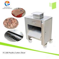Elektrischer Fisch-Fleisch-Knochen-Scherblock, Fisch-Fleisch mit Knochen-würfelnder Maschine