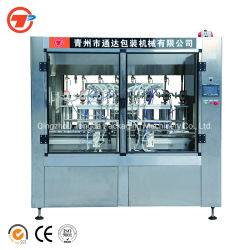 El aceite de cocina automática del pistón lineal/aceite vegetal o aceite comestible envasado Máquina de embotellamiento de llenado de botella