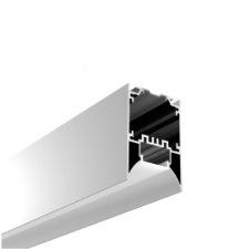 مصباح LED طولي معلق على السطح أو قلادة لمصباح من الألومنيوم الجص الهندسي لوحدة LED لمظهر حائط السقف من الألومنيوم المطروق