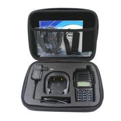 Mala de armazenamento/Bag Rádio de Duas Vias Lado Carring Caso Bag para UV Baofeng-82 Lâmpada UV82 Lâmpada UV-8d walkie-talkie/Interfone