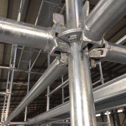 Andamios Layher Ringlock inoxidable del sistema de construcción material de acero/Puente/Construcción de Túneles