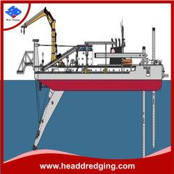 Abmontierbares Messerkopf-Bagger-Modell CSD600 für ausbaggernden River See-Seehafen