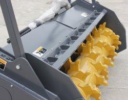 スキッドの雄牛のローダー、掘削機およびローダーの販売のための木製の快活なブラシのSlasherの粉砕機に互換性がある良質のシアン化水素のブランド0513の林業Mulcher
