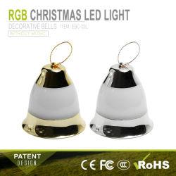 Водонепроницаемый светодиодный Xmas колокола на солнечной энергии String волшебная вспышка для рождественских сад оформлены дерева