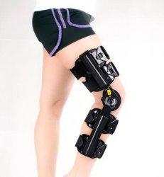 Medical Post Op attelle de genou à charnière réglable orthopédique ROM Support de genou pour ACL d'Antidémarrage, MCL & Blessures PCL