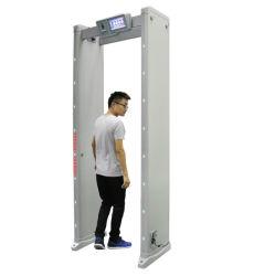 Portão de segurança a pé através do Detector de Metal