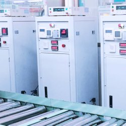 L'énergie solaire de la climatisation salle d'inspection des produits de base automatique