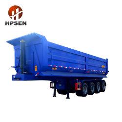 مقطورة شبه عامة لشاحنة التفريغ الخلفية على شكل حرف U ذات 4 محاور
