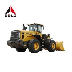 Sdlg 5t High-End Pá carregadora de rodas Loader L956fh/LG956L/L953f com distância entre eixos longa para materiais a granel e materiais duros,