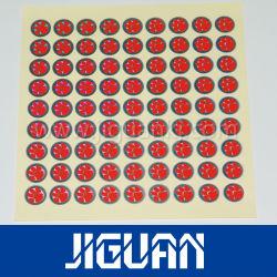 Anti-Vervalst van de Druk van de douane Sticker van het Hologram van het Huisdier van de Veiligheid 3D