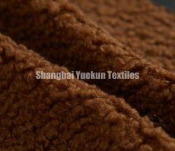 おもちゃのSherpaの羊毛のためのポリエステルのどの毛皮のSherpaの毛皮ファブリック毛皮