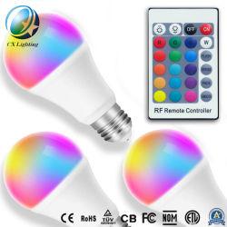 Mando a distancia regulable bombilla LED 7W Control Remoto de rayos infrarrojos A60 E27