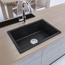 Solo el recipiente de cocina de cuarzo moderno lavabo de piedra de la cuenca Undermount