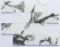 Mosaico de cristal autoadhesivo para la decoración de interiores