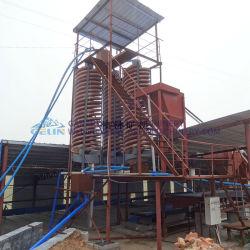 توفير الطاقة ثقل فيبرجلاس 5 ll فاصل حلزوني للغسيل المعدني