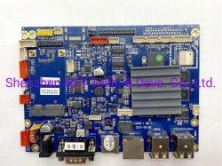 シンセンの人間の特徴をもつマザーボードは、マザーボード、Rk3288 (2G+8G)、二重Lvdsの中国のアンドロイドのマザーボードをカスタム設計する