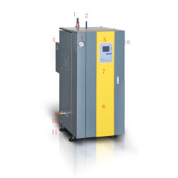 La norma Ce Eficiente generador de vapor eléctrico de 100 kg.