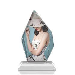 Fotos personalizadas por sublimação de tinta de impressão pequena Iceberg Crystal