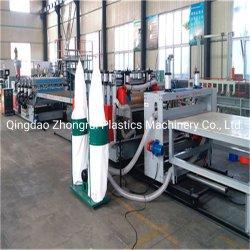 El suministro de equipos de la junta de espuma de PVC Desollando, PVC Madera de Construcción de plástico Fabricante de equipos de línea de producción de la plantilla