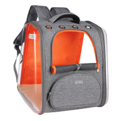 Nieuwe transparante Pet Plastic Perspective Window Pet Rugzak Portable met grote capaciteit Geschikt voor een Cat tas met dierentassen