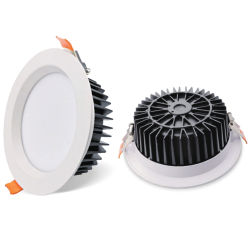 Abajo la luz LED SMD2835 Downlight LED Empotrables de 6 pulgadas Downlight LED redonda de 8pulg.